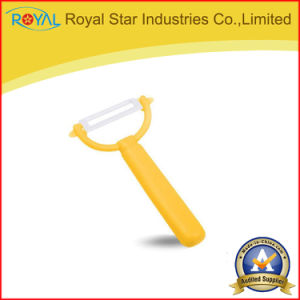 Ceramic Peeler Vegetable/Potato/Fruit Straight Shank Peeler
