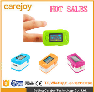 Finger Fingertip Oxygen Meter SpO2 Pulse Heart Rate Monitor Oximeter-Candice pictures & photos