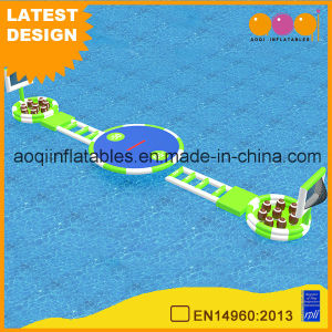 Water Park Inflatable Sport Game Rugby Swing Game (AQ01791) pictures & photos