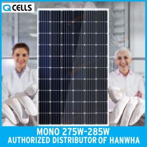 Q-Cells Mono PV / Photovoltaic Panel 275W 280W for Solar Power System pictures & photos