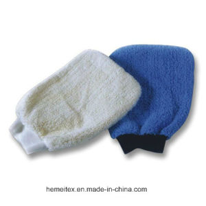 Microfiber Chenille Car Washing Mitts pictures & photos