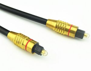 8m Digital Optical Fiber Audio Cable Toslink Cable Od6.0mm pictures & photos