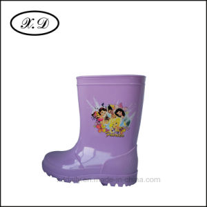 Rain Fashion Kid Boots (BX-024) pictures & photos