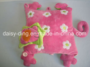 Plush Pink Star Shape Cushion pictures & photos
