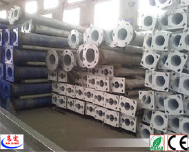 Hot Galvanized Street Light Pole Arms pictures & photos
