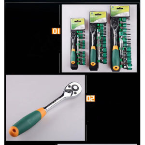 Professional Ratchet Torque Wrench From Greenery pictures & photos