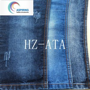 8.5oz Cotton Lycra Denim Fabric for Women Jeans pictures & photos