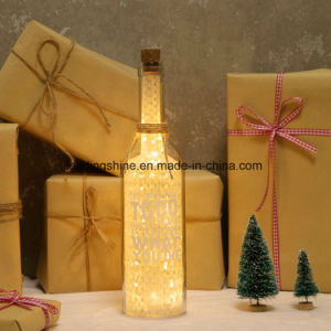 Anniversary LED Light up Sentiment Engagement Love Couples or Friend Glashing Gifts Star Light Bottle pictures & photos