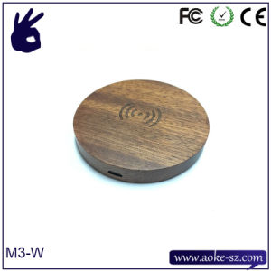 China 2016 Hot Qi Wooden Gift Wireless Charger for Mobile Phone pictures & photos