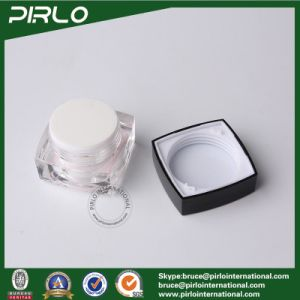 50g Plastic Jar Acrylic Luxury Cosmetic Cream Packing Jar with Lids High-End Plastic Jars pictures & photos
