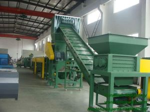 High Efficiency and Energy-Saving PP PE Plastic Film Crushing Washing Recycling Line pictures & photos