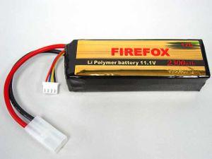 Firefox 11.1V 2300mAh Li-Po Li-Polymer Battery 12c Twins pictures & photos