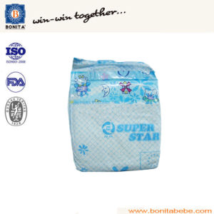 PE Backsheet and PP Tape Disposable Baby Diaper