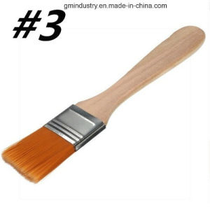 #3 Nylon Painting Brush Artists Acrylic Oil Paint pictures & photos
