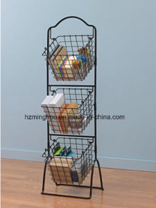3 Tier Metal Market Display Unique Furniture Shower Caddy pictures & photos