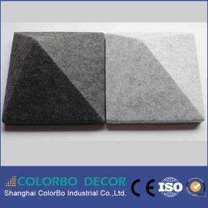 Sound Insulation Polyester Fiber Acoustic Panel pictures & photos