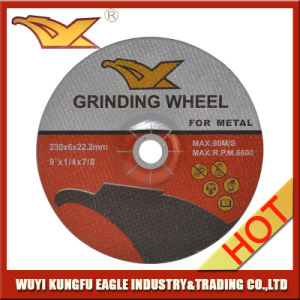"Resin Grinding Wheel/Grinding Disc for Metal 9"" 230X6X22.2mm pictures & photos"