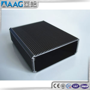 Anodized Black Aluminum Heat Sink Enclosure pictures & photos