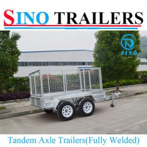 Australian Tandem Axle Mesh Cage Car Trailer pictures & photos