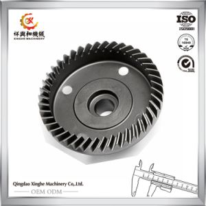 CNC Machining 1045 Steel Bevel Gear Worm Gear pictures & photos