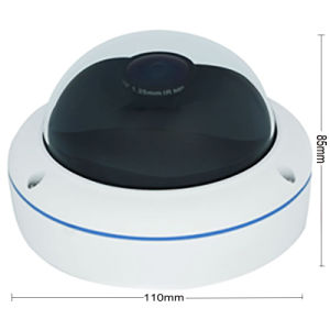 Wdm Good Quality Vandalproof Dome HD 360 Degree Fish Eye Camera pictures & photos