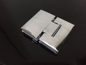 Mirror Bulge Stainless Steel 180 Shower Door Fitting Connector pictures & photos