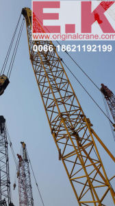 55ton Lattice Boom Crane Kobelco Crawler Crane  (7055) pictures & photos