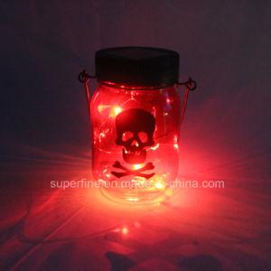 Outdoor Use Waterproof Beautiful Solar Hanging Luminary Mason Jar Firefly Fairy LED Lights pictures & photos