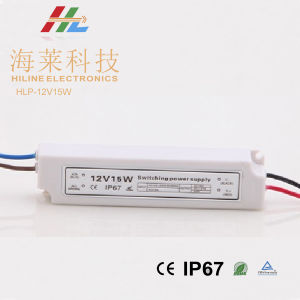 Plastic LED Driver 12V15W IP67 pictures & photos