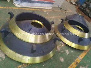Concave and Mantle for Cone Crusher pictures & photos