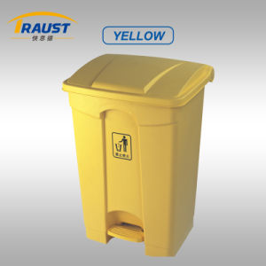 Hot Sale 87L Big Size Plastic Dustbin/ Hospital Dustbin pictures & photos