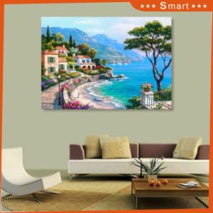 The Seaside UV Printed on Wall Panel for Home Decoration pictures & photos