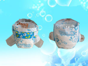 Soft and Disposable Baby Diaper with Baby Clothes Like Backsheet pictures & photos