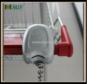 125 Liters Shopping Cart with Coin Lock Mjy-125b-TPR pictures & photos