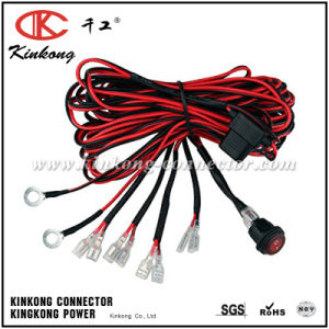 Kinkong Wiring Harness Fuse off-Road LED Work Light Bars pictures & photos