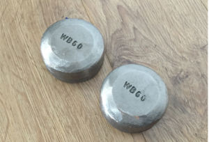 Wear Buttons Wb60 Domite Wear Part Wear Plate pictures & photos