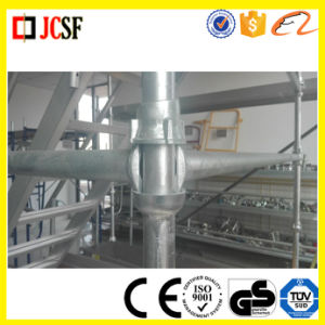 Q235/Q345 Galvanized Steel Cuplock Scaffolding System for Large Building Construction pictures & photos