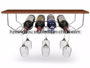 Haning Metal Wine Glass Rack for Home Kitchen Cabinet pictures & photos