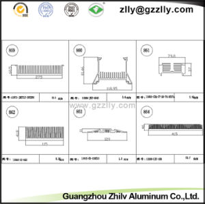 Building Material Aluminum Comb Heat Sink/LED Radiator pictures & photos