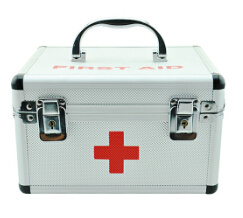 Daily Home Care Large Aluminium Medical First Aid Kit Box pictures & photos