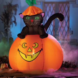 Halloween Party Decoration Inflatable Black Cat pictures & photos
