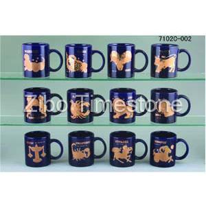 11oz Stoneware Glazed Constellation Tea Mugs (7102c-002) pictures & photos