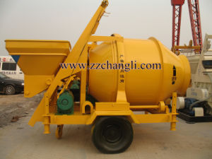 Self-Falling Drum Concrete Mixer 20-22.5m3/H pictures & photos