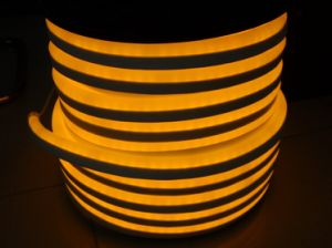 CE EMC LVD RoHS Two Years Warranty, Lsn Amber LED Neon Flex Rope Light- pictures & photos