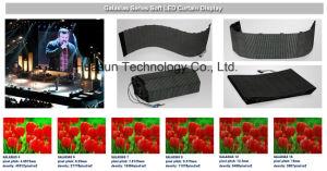 Outdoor Flexible LED Curtain P6 P4 Galaxias Huasun High Quality