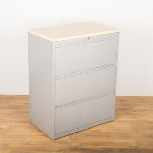 Side Pull Hanging White File Cabinet (SI6-LCF3W) pictures & photos