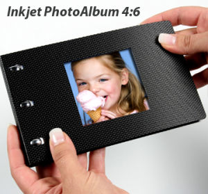 Mini-Color Inkjet DIY Photo Album (Antraite Cover)