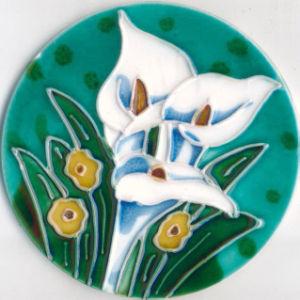 Elegant Ceramic Coaster (SYT-CCM108-14)