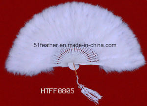 Handmade Ostrich/Goose Feather Party/Performace Fans pictures & photos
