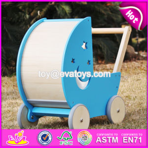 New Design Safety Outdoor Toddlers Wooden Push Walker W16e074 pictures & photos